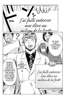 GTO 14 Shonan Days - Onizuka a failli enterrer une élève dans la forêt.