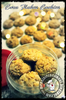 Cara Membuat Corn Flakes Choco Cookies Special