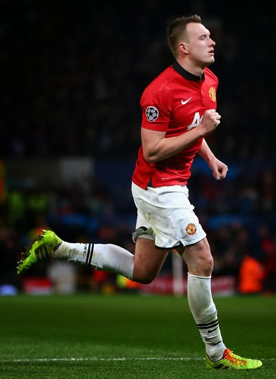 Phil Jones Manchester United Defender 2014