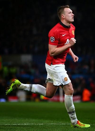 Phil Jones Manchester United Defender 2014