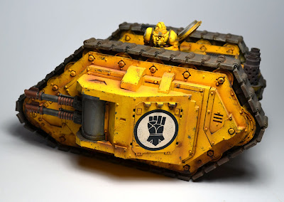 Imperial Fists Land Raider Armoured Proteus