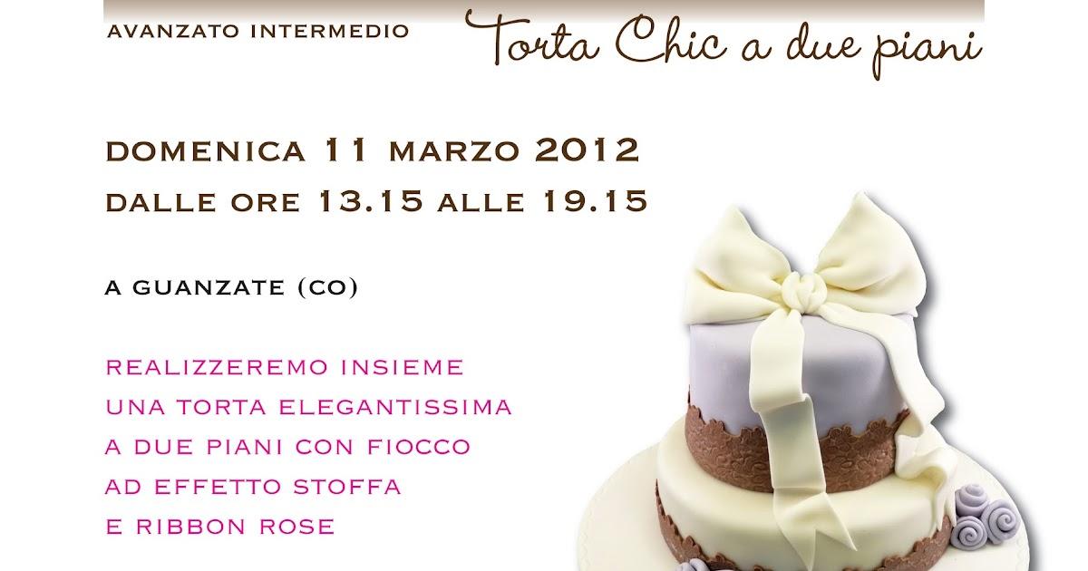 Corso cake design la torta a due piani tres chic for Semplice design a due piani