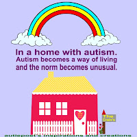 in a home with autism