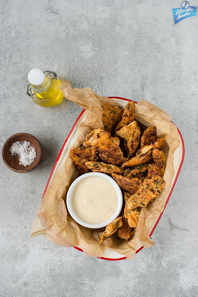 Kurczak w cieście naleśnikowym przepis
