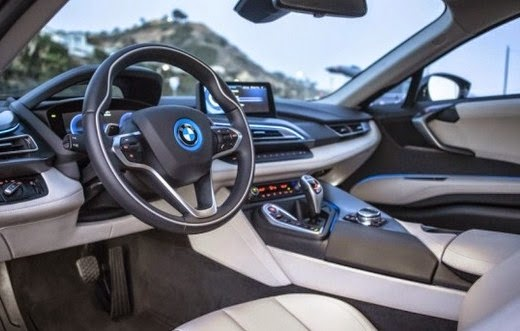 2016 BMW i8 Supercar interior