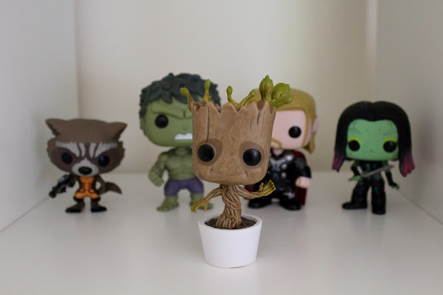 Funko Pop! Vinyl Bobbleheads, Dancing Groot, Guardians of the Galaxy