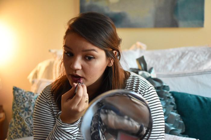 NYX Cosmetics Matte Lipstick in Whipped Caviar