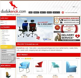 Sofa Murah, www.dudukenak.com, jual kursi kantor