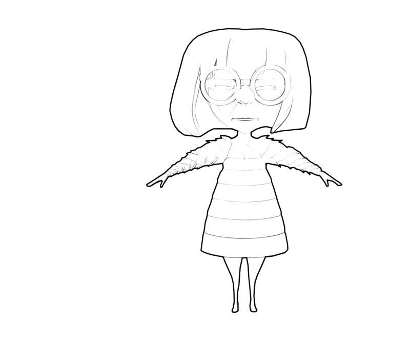 Edna Mode Art Nintendo Wee