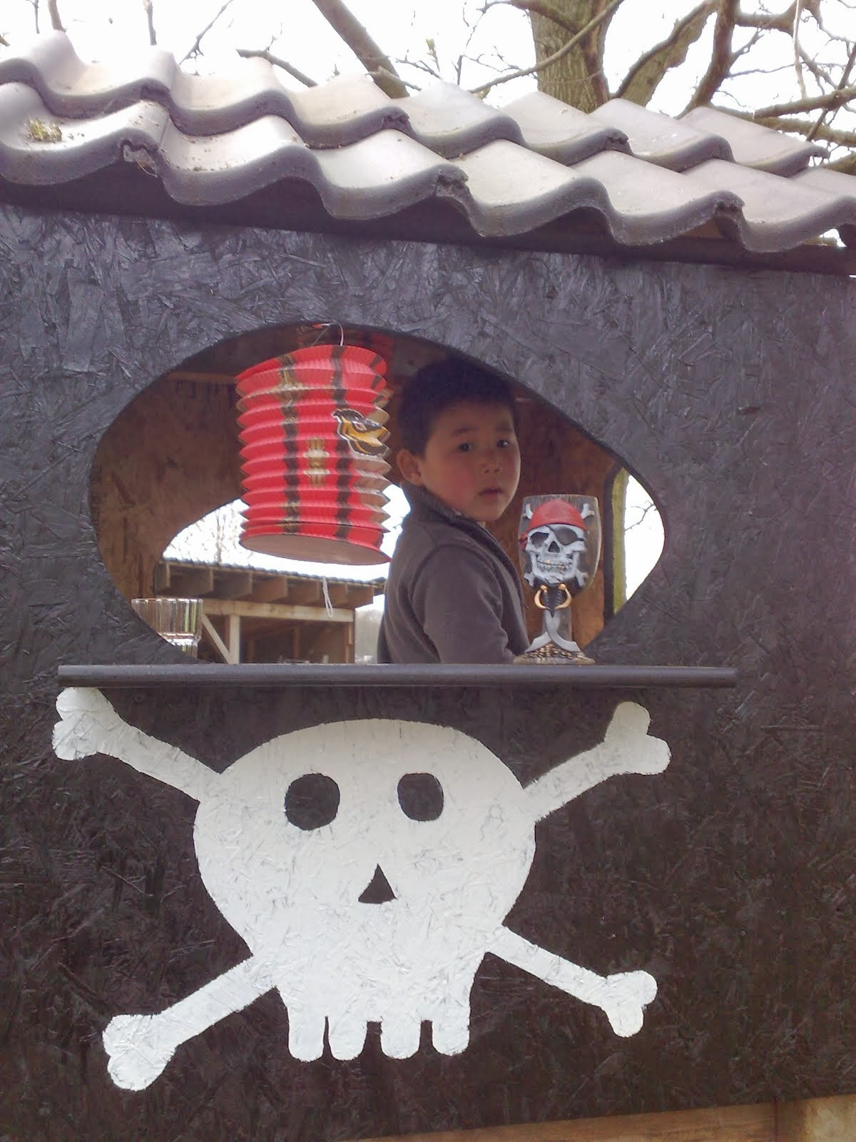 mijn kanjer in zijn piratenhut