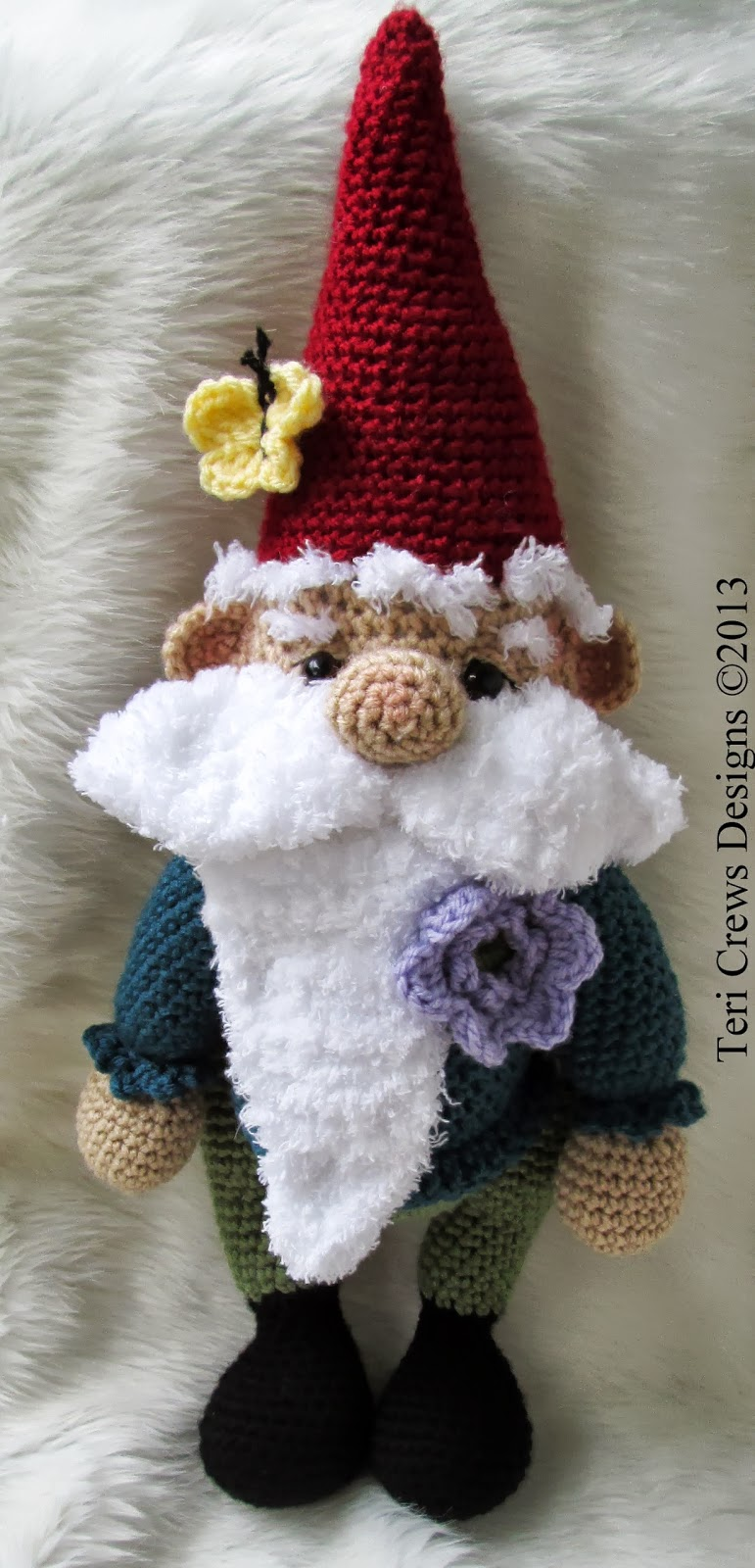 Amigurumi Hello Kitty Free Pattern : Teris Blog: New Cute Gnome Crochet Pattern