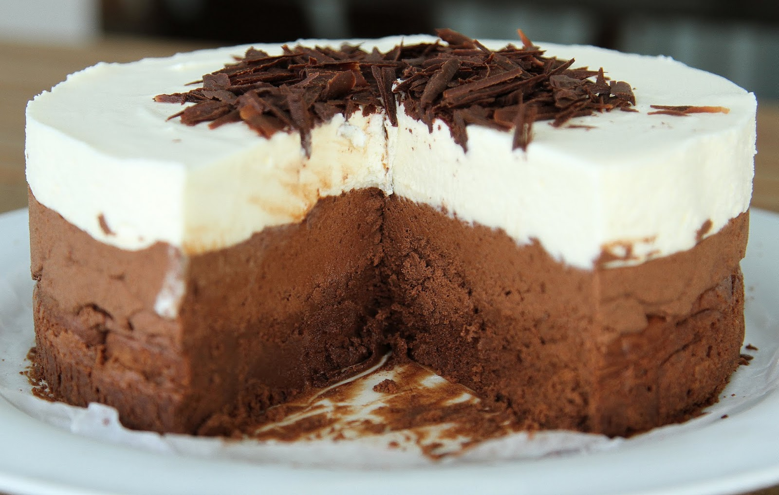 pepsakoy: Triple Chocolate Mousse Cake