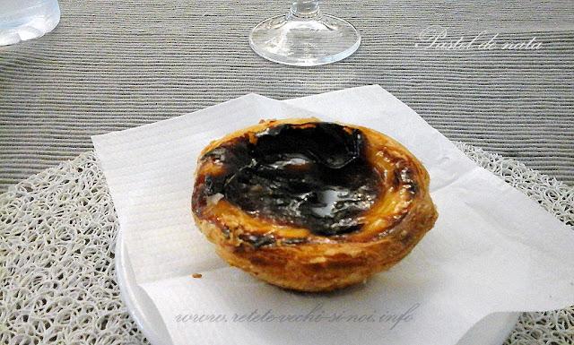 Meniuri portugheze - prajitura pastel de nata