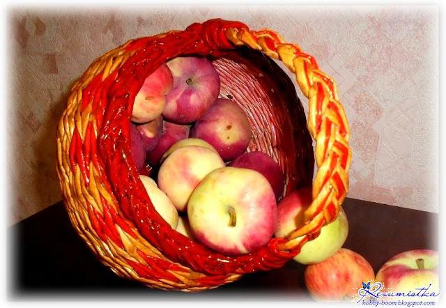 корзинка яблочный спас