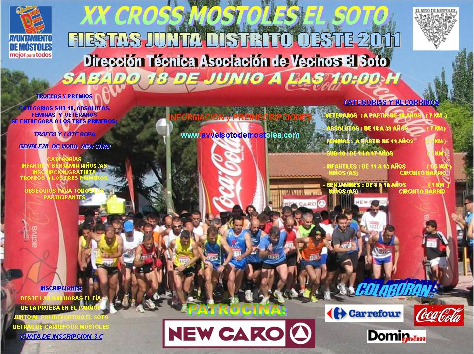 Runner wolves cross mostoles el soto for Pisos en mostoles el soto