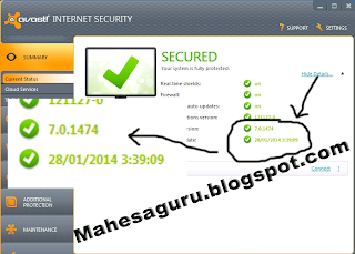 avast internet security 7.0.1474