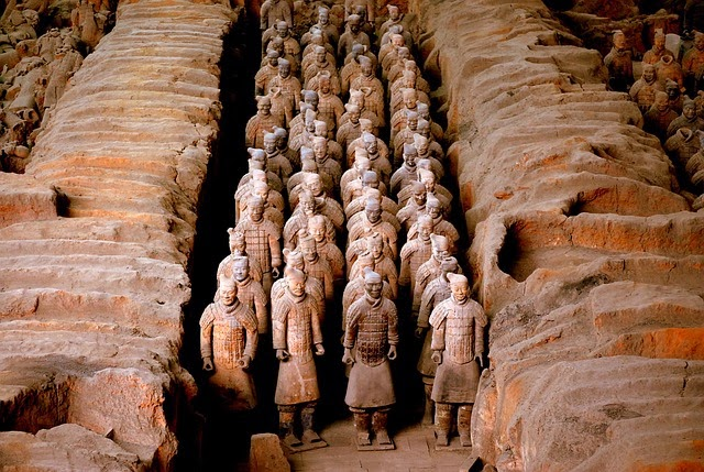 Xian Terracotta Army, Pit Museum, China, Shaanxi Province