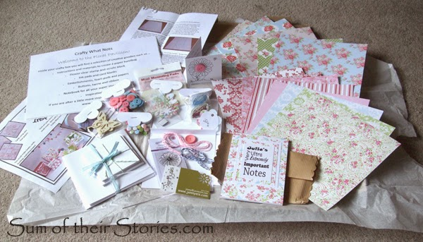 Crafty What Nots subscription boxes
