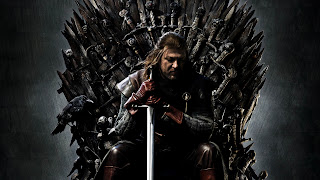 Sean Bean as Eddard Stark on Throne HD Wallpaper