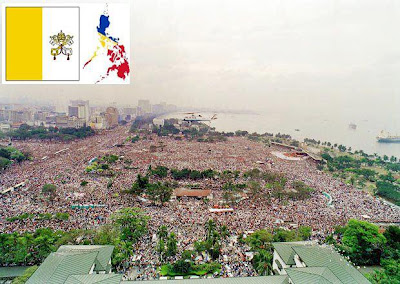 WORLD'S LARGEST PAPAL GATHERING World Youth Day 1995 Philippines