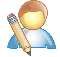 Author Witn Pen Icon