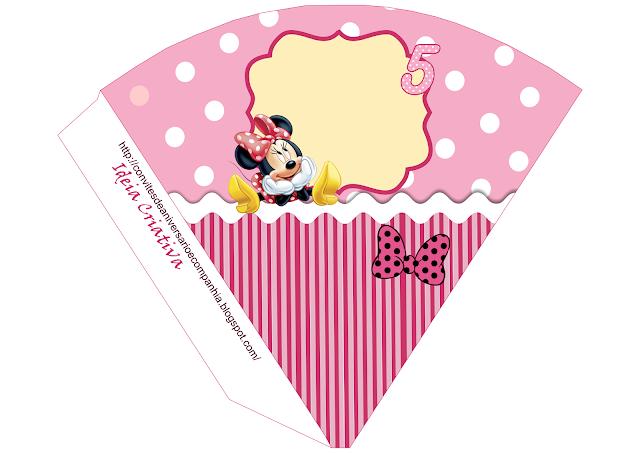 Cone Minnie para personalizar