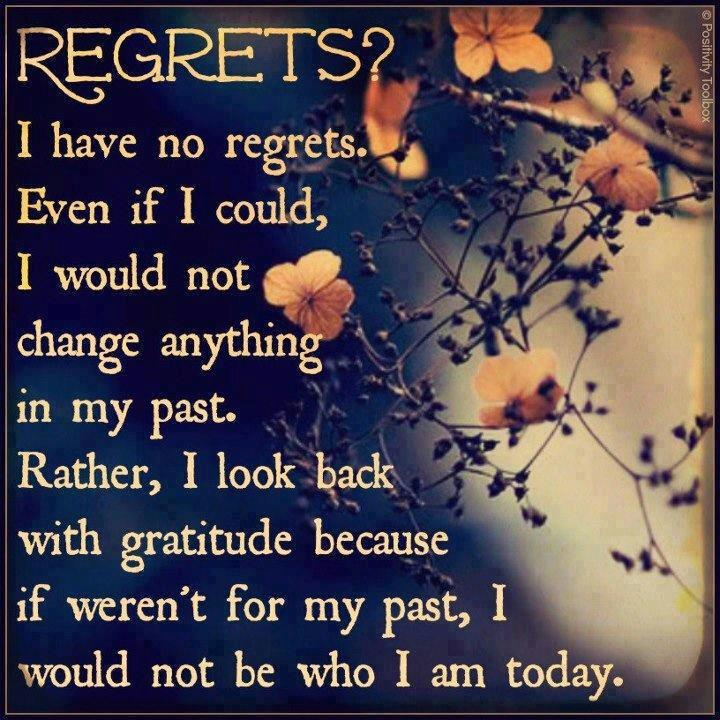 46 Famous No Regret Quotes And Sayings: The Beautiful English Poems For Regrets