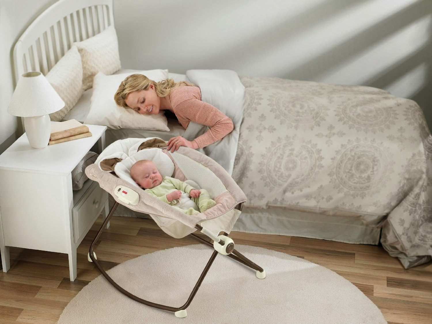 Get the Fisher-Price Deluxe Newborn Vibrating Rock n' Play Sleeper for $44.99 SHIPPED!! WOW!!!