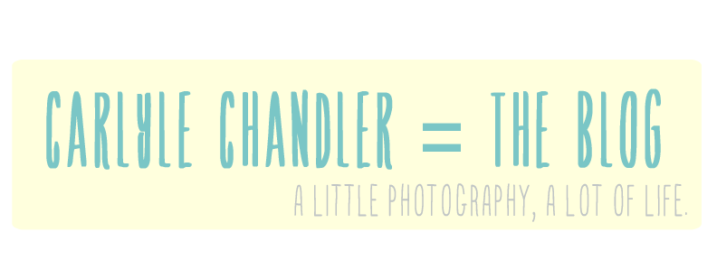Chandler = The Blog