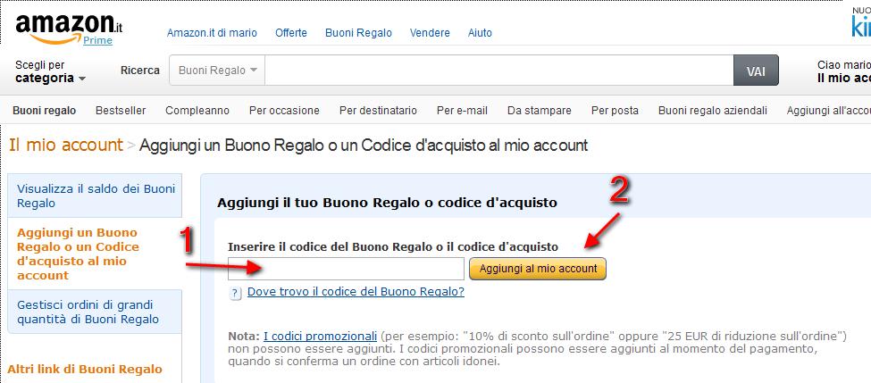 Gennaio 2015 for Codici regalo amazon gratis