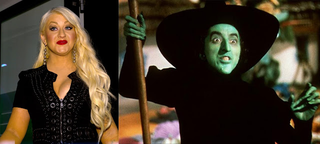 Christina Aguilera is a Witch