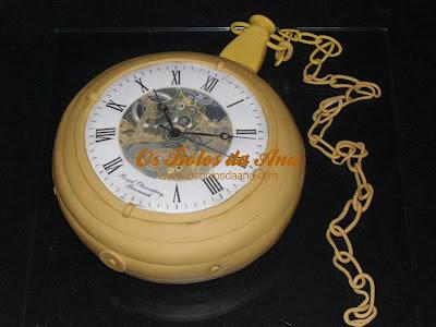 Bolo 3D Relógio de Pulso