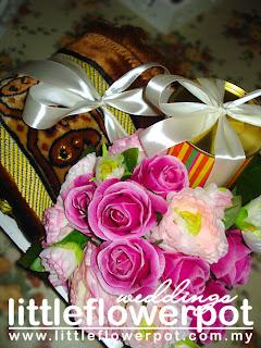 real wedding flowers