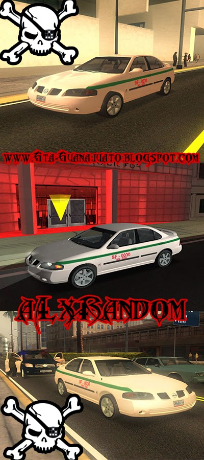 Gta Guanajuato Oficial: Taxi Sentra San Felipe Gto