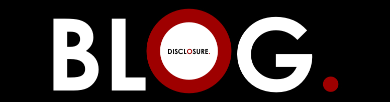 THE DISCLOSURE BLOG