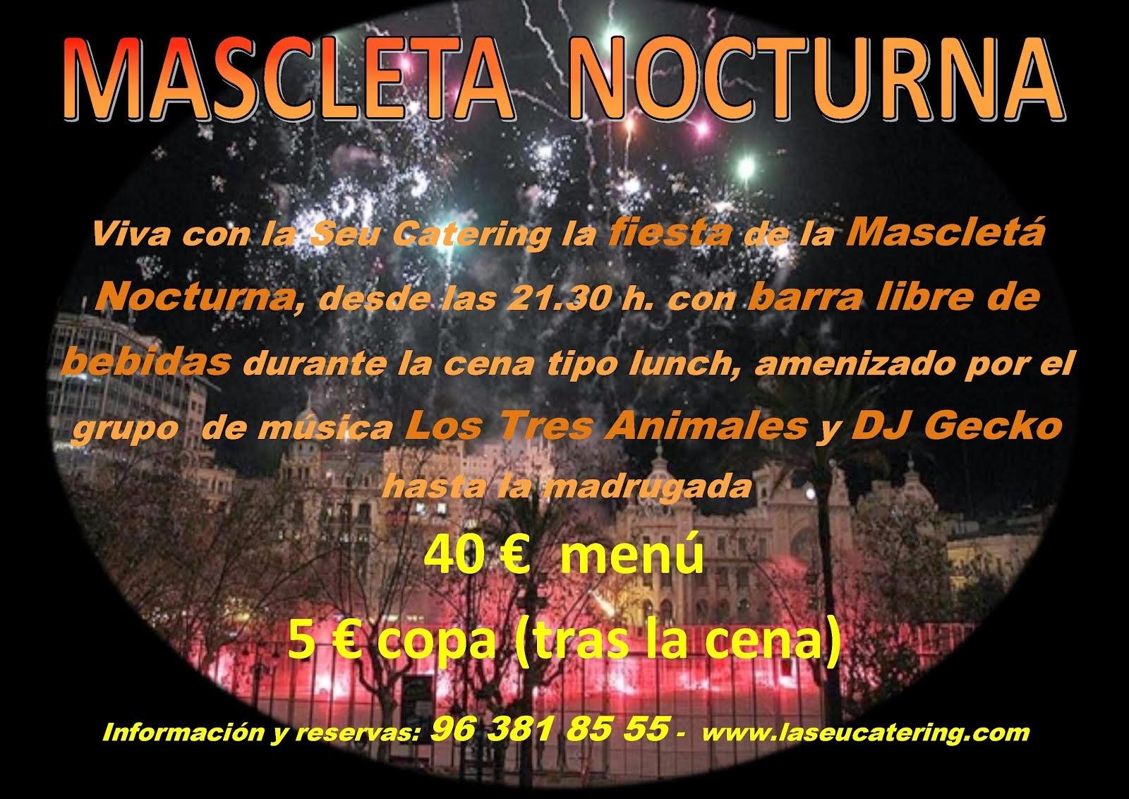 7 Marzo - Mascleta Nocturna