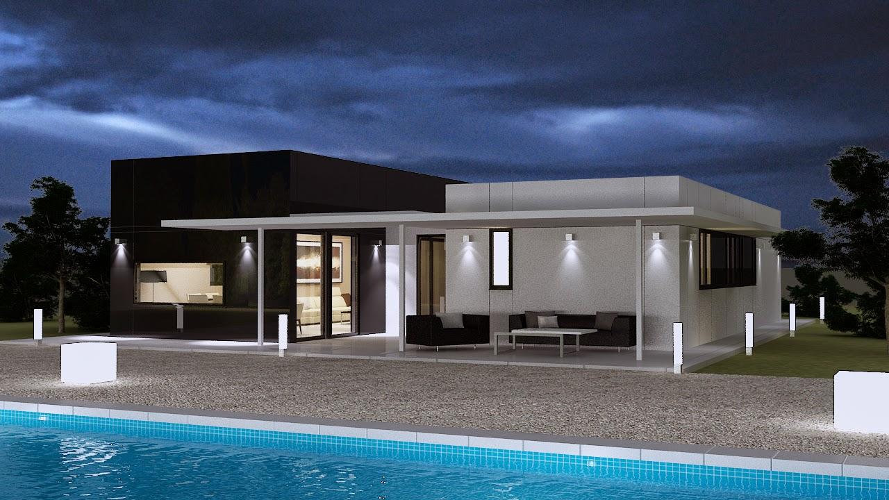 Aislamiento t rmico y ac stico m ximo en viviendas for Viviendas modulares diseno