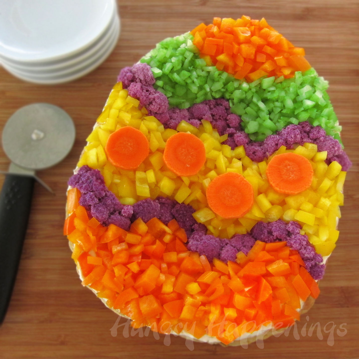 Crescent roll carrots filled with egg salad for easter brunch or lunch veggie pizza easter egg forumfinder Choice Image