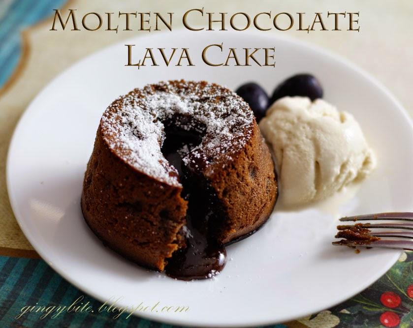 Molten Chocolate Lava Cake | The Yummy Journey