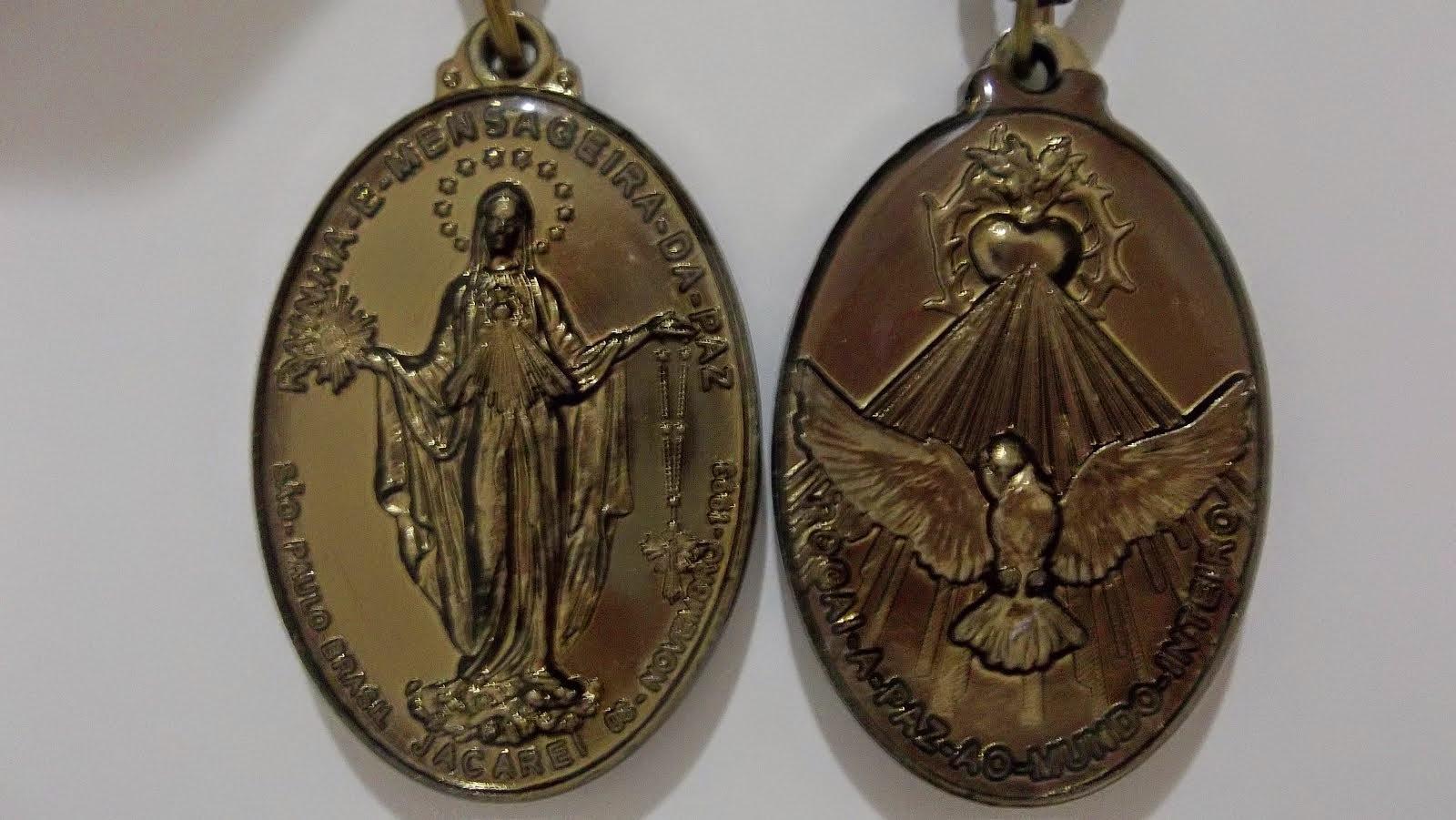 A Santa Medalha da Paz revelada nas Aparições de Jacareí!