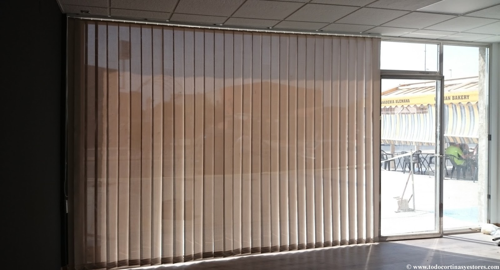 Cortinas enrollables cortinas verticales estores cortinas - Cortinas estores enrollables ...