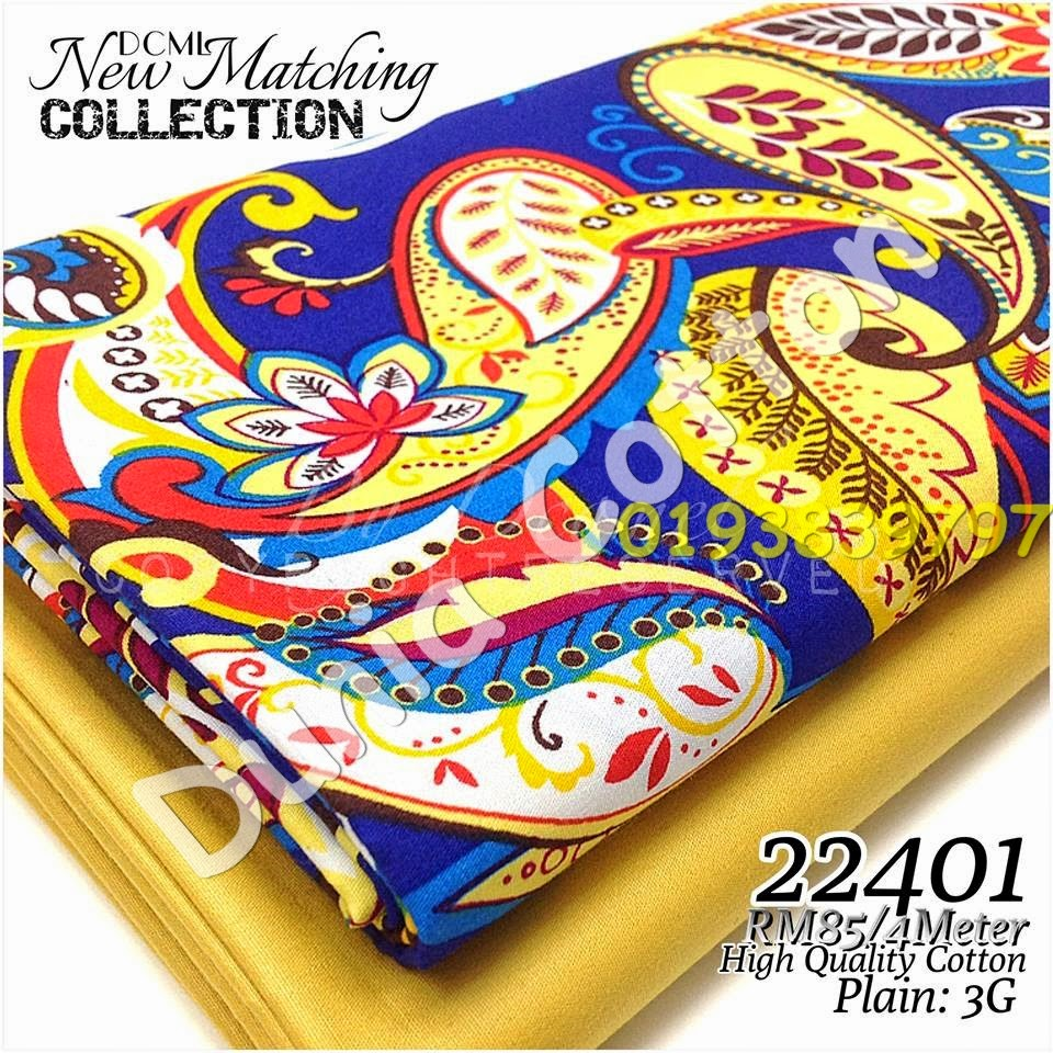 Kain English Cotton Gred AAA Matching Album 224
