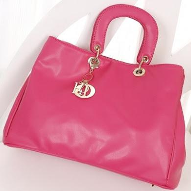 DIOR DESIGNER BAG - PINK