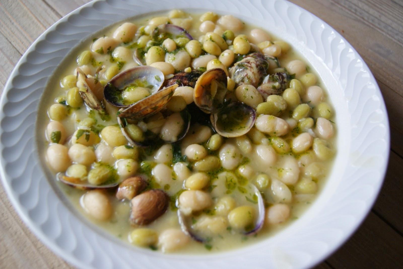 Me comer a el mundo pochas con almejas en salsa verde - Salsa verde para almejas ...