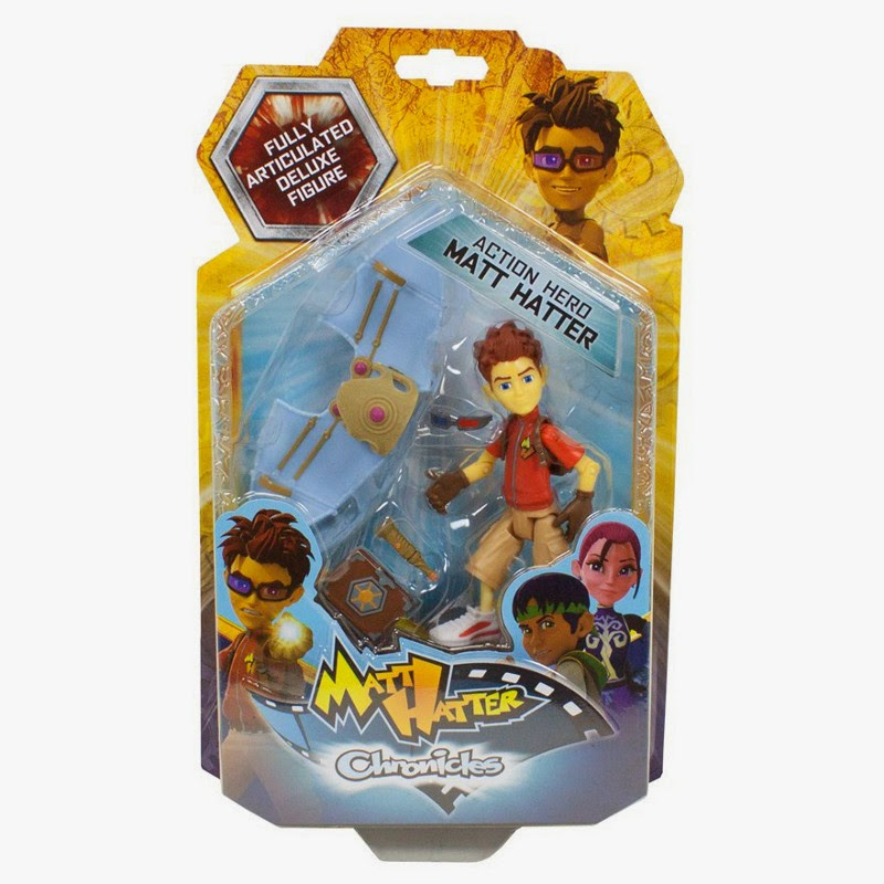 JUGUETES - Matt Hatter Chronicles  Matt | Figura - Muñeco  Producto Oficial de la Serie Televisión | Clan Tve | Simba