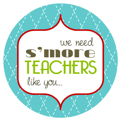 smore teacher like you template | just b.CAUSE