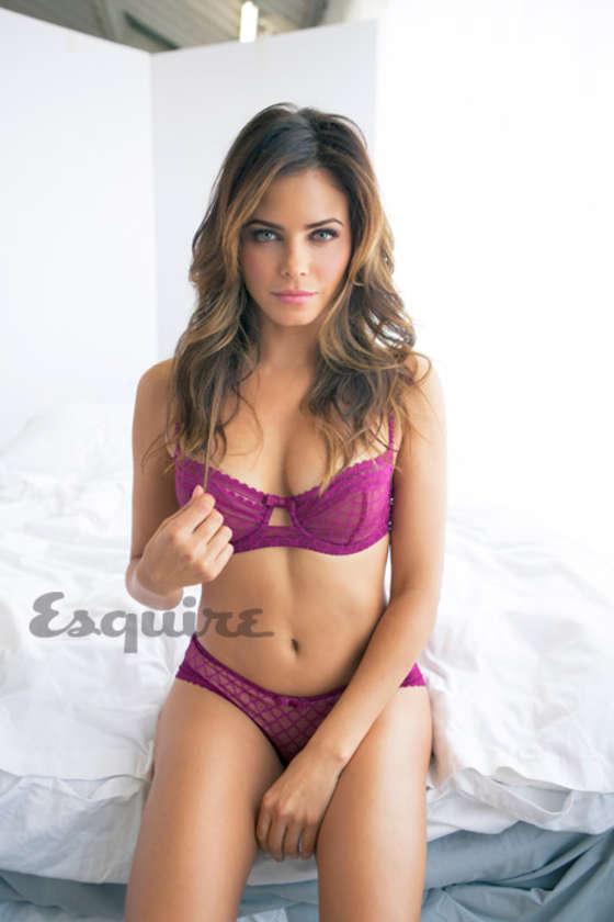 Jenna Dewan-Tatum shows off curves for Esquire February 2013
