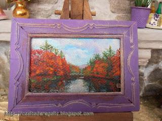 paisaje en miniatura