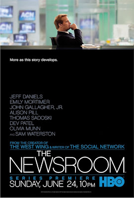 The Newsroom HBO Poster