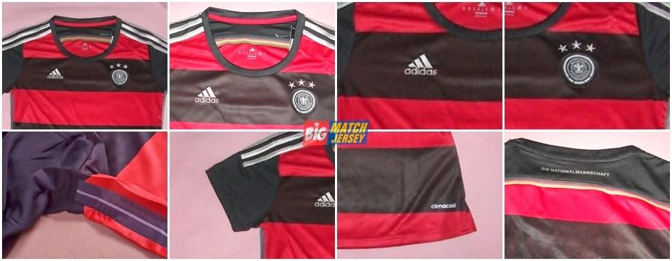 Detail Jersey Jerman Away Piala Dunia 2014 Terbaru Untuk Cewe